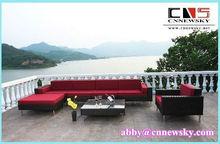 Popular Luxury Beautiful Top Grade Rattan Sofa Rattan Outdoor Furniture