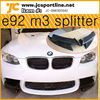 car front carbon splitter M3 E92 splitter for BMW E92 M3 car carbon front splitter