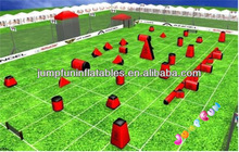 2014 Popular inflatable paintball equipments,Inflatable laster tag bunkers paintball obstacles