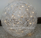 outdoor decorative lighted mesh ball
