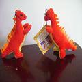 """Peluches 8"""" macio pelúcia dragão animal de brinquedo, recheado de dinossauros brinquedos animal(58)"""