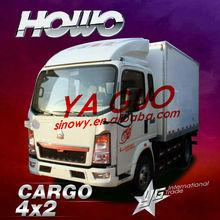 Howo 4*2 336hp cargo van