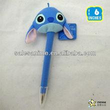 Wholesale Anime Cartoon Cute Stitch Plush Ballpoint Pen