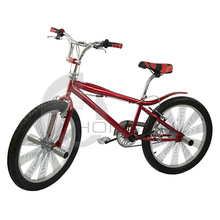 Extreme 24'' Men's Freestyle Stunt Fixie Mountain Bike with BMX features (Fixed Gear / 1 Speed)