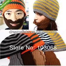 Cute Beard Hat Knitted Hat / Cap Ski Mask Novelty Gift