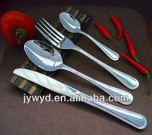 2013 de nuevo diseño de acero inoxidable utensilios de cocina, cuchara, tenedor y cuchillo.