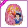 Beauty Plastic Children School Bag Trolley Travel Bag Set