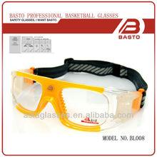 Full UV protection sports glasses for football for OEM