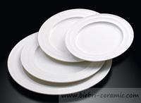 Restaurant Hotel Super White Personal Design Tableware Dinnerware Set Of Ceramic Plate And Cup
