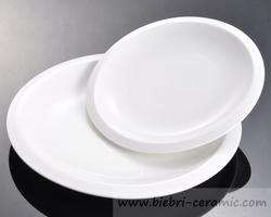 Custom Design Ceramic Porcelain Restaurant Plate And Bowl