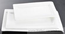 Party/Wedding/Catering/Banquet/Hotel/Restaurant Super White Excellent Quality Porcelain Plates Dishes Ceramics Wholesale