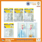 plastic suction cup with hanging hooks