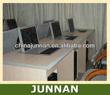 Folding Computer Monitor Lift Mechanism for Classroom