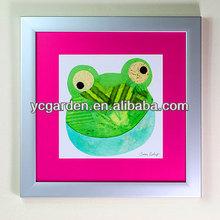 animals decoration painting with frame and garden item bag leef bag waste pop up bag