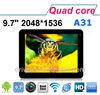 ZX-MD9708 9.7 inch Allwinner A31 cheap brand tablet pc