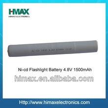 6V NiCD flashlight battery packs