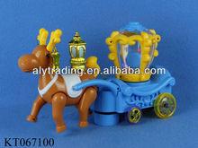 Plastic oyuncak B/O Bump&Go Deer Car With 3 Arabic Magic Lamps fanous Lanterns
