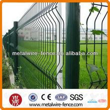 pvc coated steel mesh garden fence