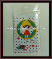 PVC credit card/id card holder