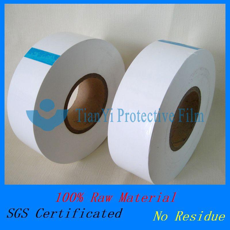 7.6cm opaque plastic film for acrylic sheet profile