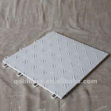 glazed white flooring tile