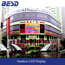 Hotsale P10 LED display outdoor full color with 10,000pixel high resolution