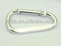 screw lock Aluminium carabiner