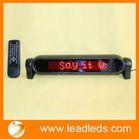 mini flashing red color led lights 12v car remote control