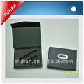 Carton noir boîte de cadeau avec aimant/à bas prix des boîtes de papier avec une éponge pour le disque usb en gros