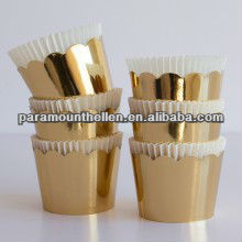 gold crown designe facotry supplier Paper Cupcake liners cake cases muffin case muffin liners baking cups wholesale