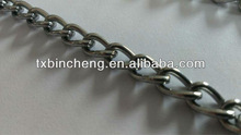 steel electric galvanized twisted link chain