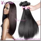 Best selling yaki straight virgin remy brazilian hair weft