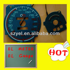 Customed Making EL Car Gauge/ EL Car Meter for Car Decoration