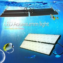 2013 Unique design aquarium led lighting with smart controller mimic moon/daylight, lunar cycle