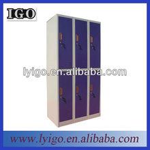 6-door for six persons military steel metal locker