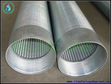 ASTM304L Filter Solutions wedge wire screen for ground water