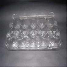 PVC/PP/OPS 15 holes egg tray