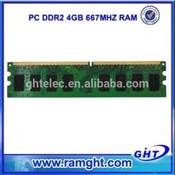 PC ram memory 4gb ddr2 ram stick