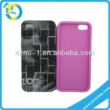Wholesale Fun Shape Multi Colours Printed Mobile Phone Silicone Case 5G Silicone Rubber Case
