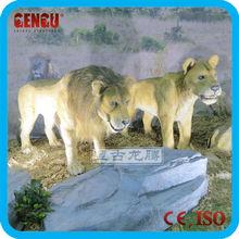 amusement park animatronic tiger statue