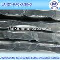 Retardante de fuego burbuja del papel de aluminio de aislamiento térmico de pared o techo