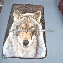 top sale animal print Mink Blanket