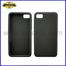 New Arrival Silicone Case for Blackberry Z10,BB 10 Soft Back Cover,Laudtec