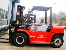 Chinese YTO brand 6ton diesel forklift CPCD60 for the dealers all over the world