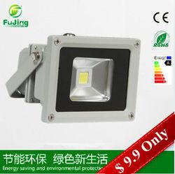 IP65 Outdoor Bridgelux Chip 10w 12 volt led flood light ztl