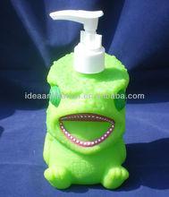OEM 500ml vinly cartoon figure shampoo bottle animal-03