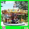 Venda quente popular vário animal música mini cavalo do carrossel para crianças