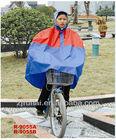 0.20mm 100%pvc bicycle rain poncho