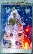 hot sale lovely Xmas White fashion fiber optic tree