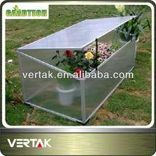 Garden aluminium cold frame